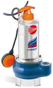 Pedrollo VXM8/35 I SS PUMP 0.75KW 230V 1PH Wastewater Pump