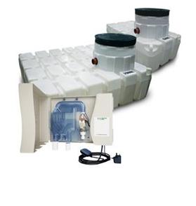 Harlequin HD4400 Home Harvest Direct Rainwater Harvesting System